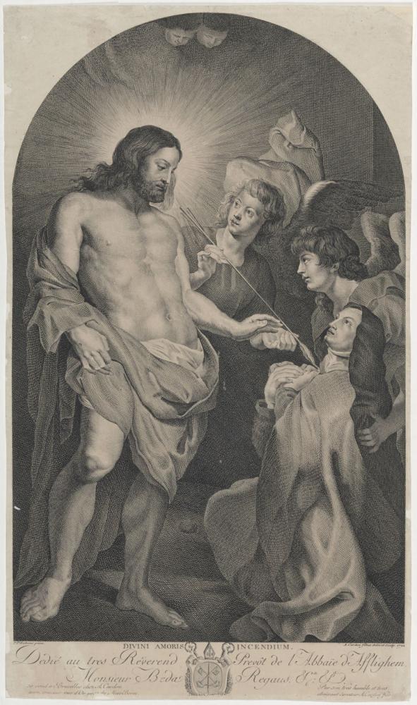 Saint Therese Of Avila Lukas