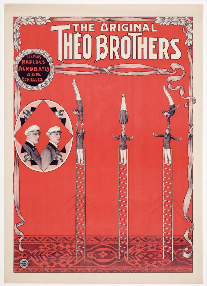 Affiche voor The Original Théo Brothers.