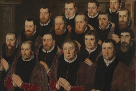 31 members of the Noble Brotherhood of The Holy Blood