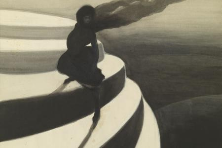 image of painting Vertigo by Leon Spilliaert