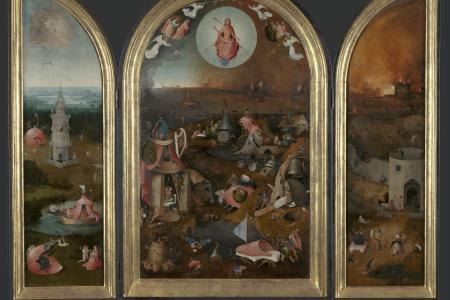 image of Tryptich The last judgement by Bosch