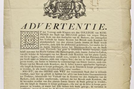 Advertisement Bread 1769