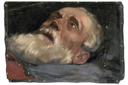 Head of an Old Man (study)