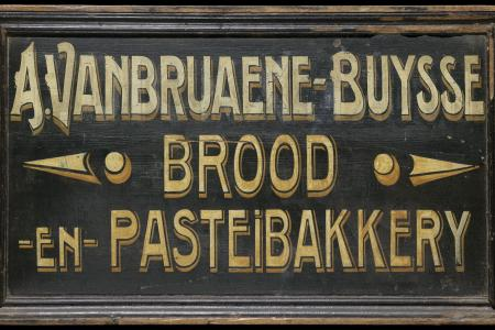 advertising Sign Bakery