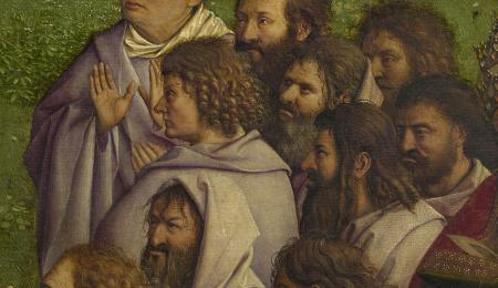 Detail of the Ghent Altarpiece, central panel